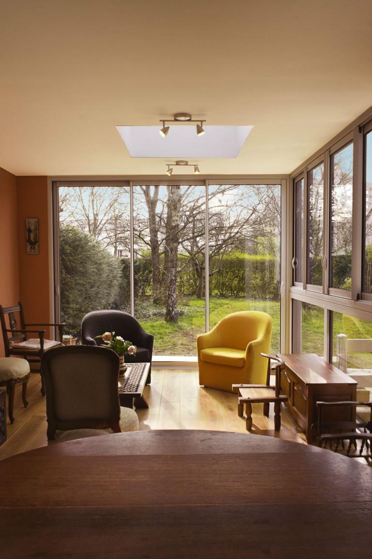 Une extension de maison réalisé par la SARL Donnart