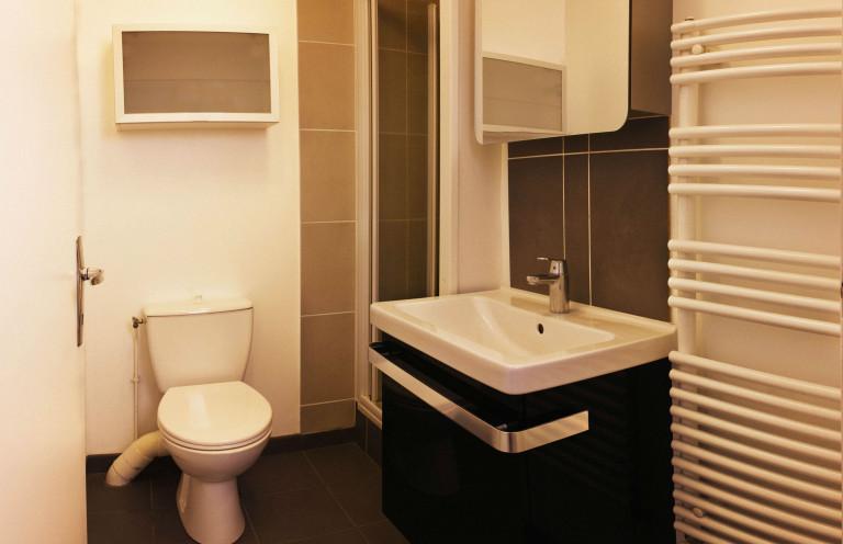 Une salle bain réalisée par la SARL Donnart
